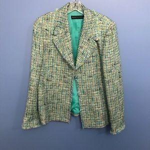 Dana Buchman Tweed Blazer